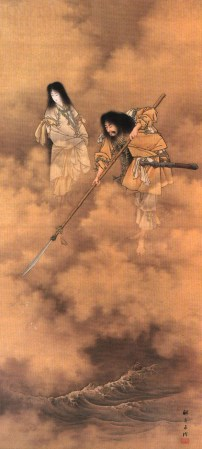 Izanami e Izanagi Il mio viaggio in Giappone traveltherapists Le basi della mitologia giapponese blog giappone elina e marzia blogger miglior blog di viaggio