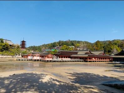 complesso santuari santuari itsukushima shrine miyajima il mio viaggio in giappone traveltherapists blog giappone miglior blog di viaggio