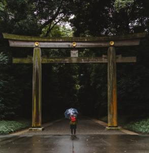 torii meiji jingu pioggia in giappone In Giappone esistono 50 parole per dire pioggia il mio viaggio in giappone traveltherapists blog giappone miglior blog di viaggio
