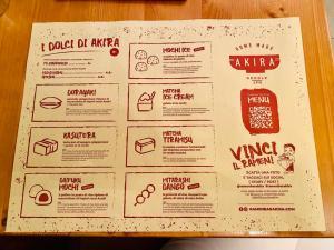 menu elina ramen bar akira ramen deluxe il mio viaggio in giappone Akira Ramen Bar Roma traveltherapists