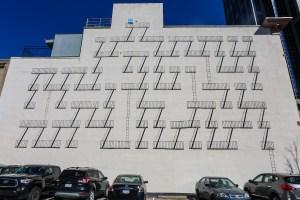 Raleigh Murals Stairs