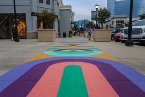 Raleigh Street Art Sidewalk