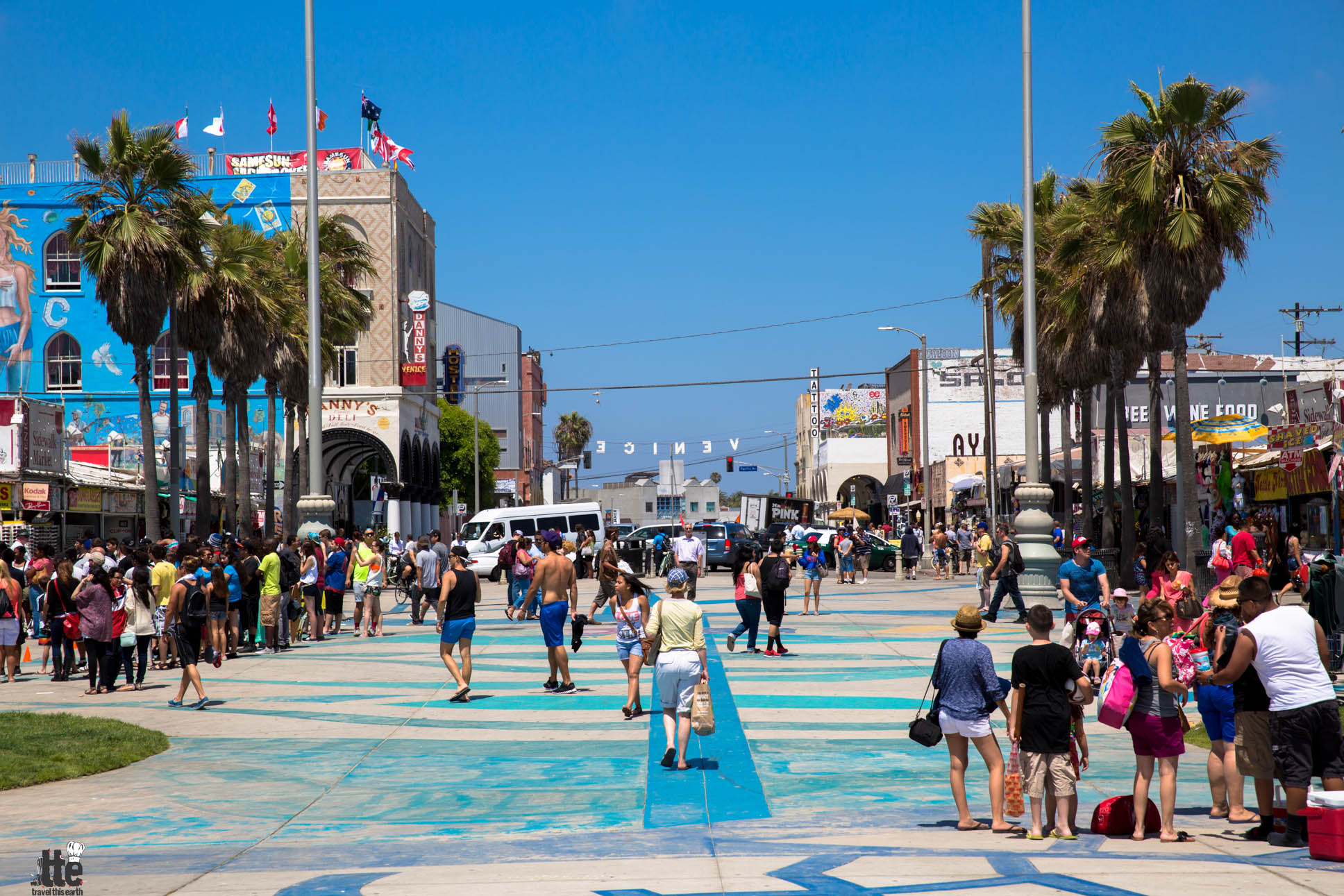 Venice Beach- Postcards From The California Boardwalk