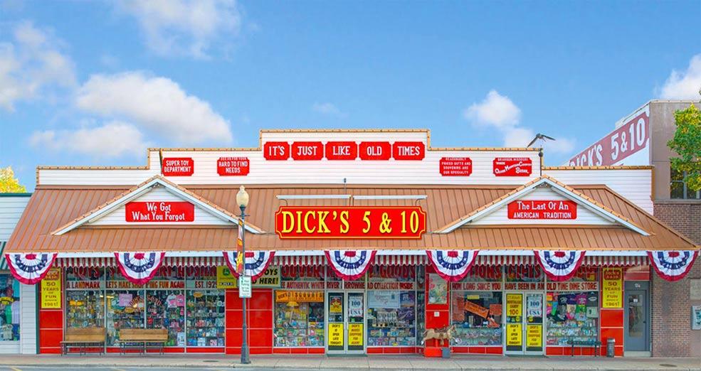 Dick's Five and Dime in Branson, MI