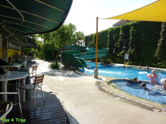 A review of the pools at Sanur Paradise Plaza Suites