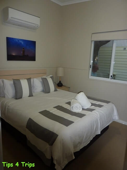My RAC Cervantes Holiday Park review for a getaway to see Western Australia's Pinnacle Desert staying in the new two bedroom villa.