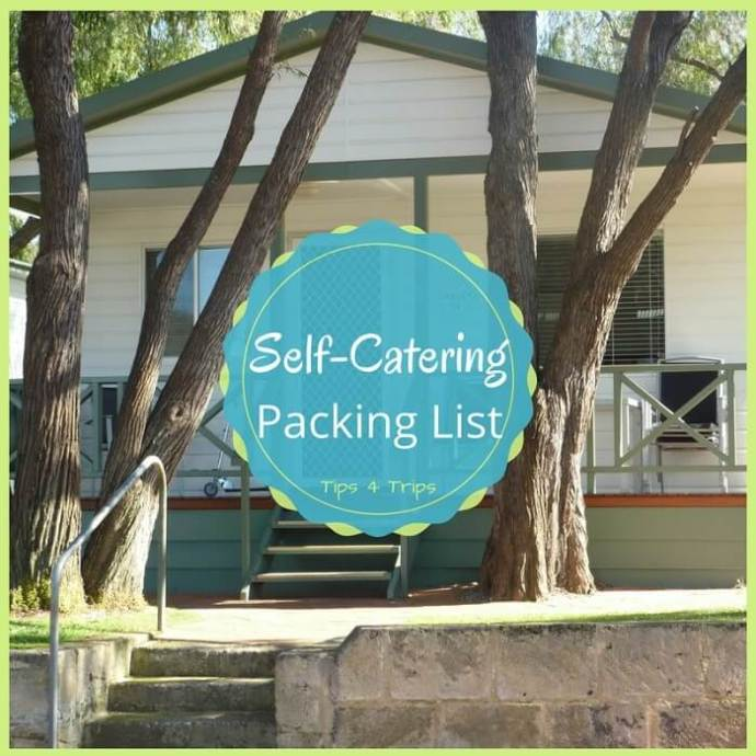 A self-catering holiday packing list. This travel checklist is suitable for camping and caravanning, plus cabin, chalet and villa vacation stays.