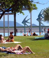 Tourism plays a major part in the Cairns economy.