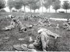 Gas victims at Villers Bretonneux