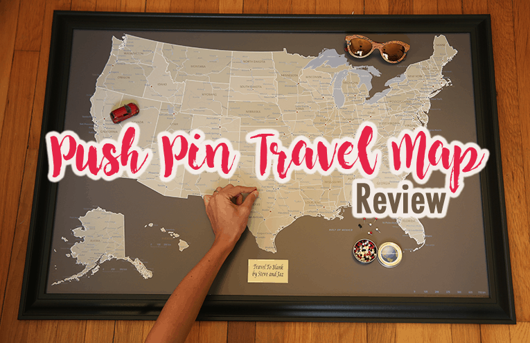 Push Pin Travel Map Review - Travel To Blank Walking Guide