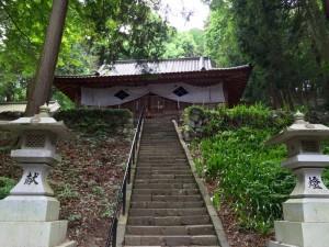 武田八幡神社の拝殿