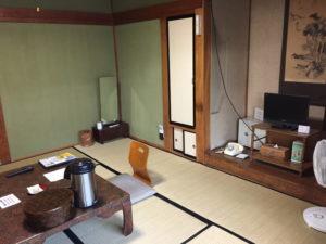 酸ヶ湯温泉の客室