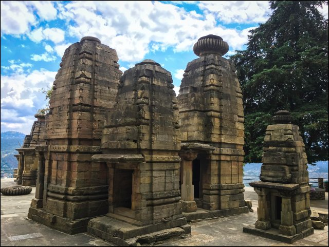 Katarmal Sun Temple, Almora, Uttarakhand, India