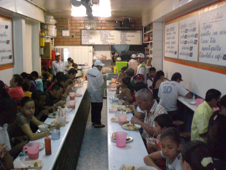 Essen in Medellin
