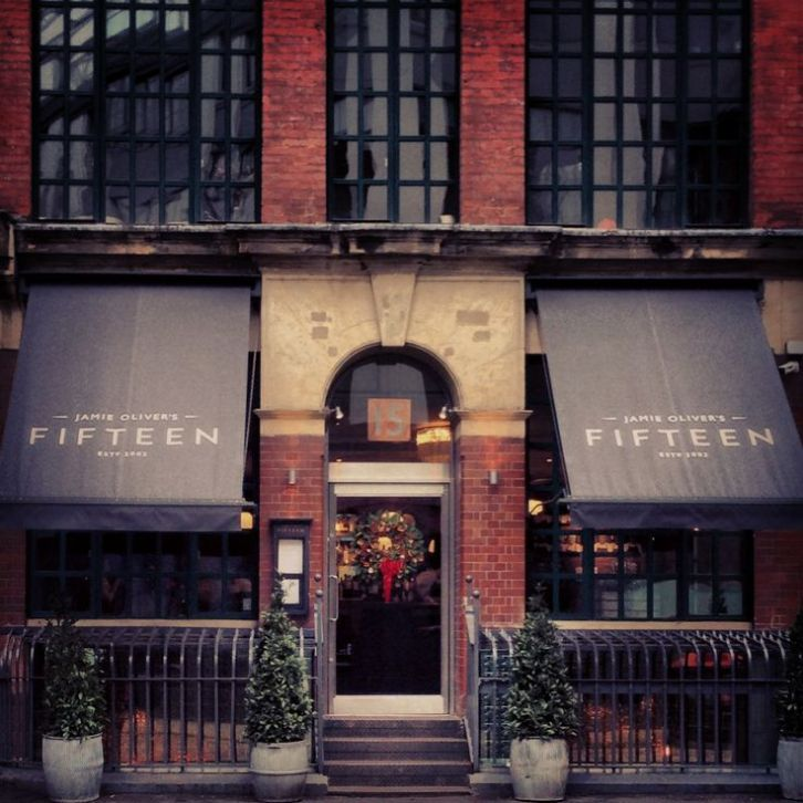 Jamie Oliver's Fifteen, London