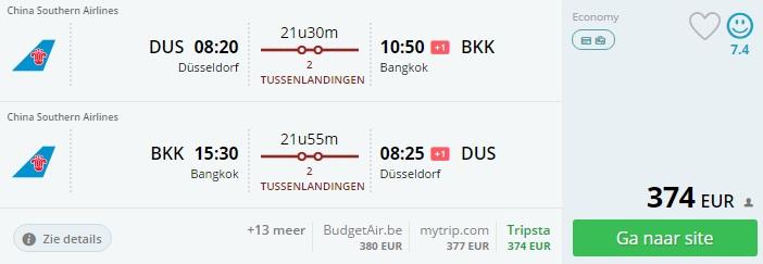 Dusseldorf - Bangkok