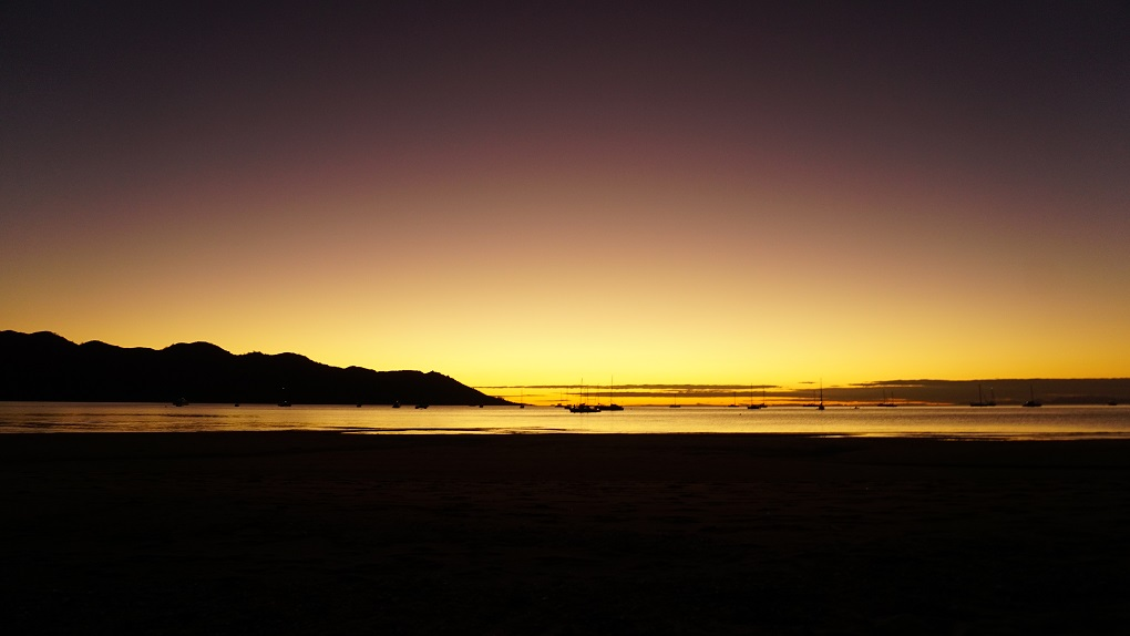 Zonsondergang op Magnetic Island