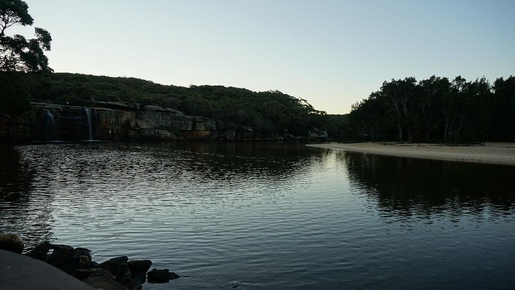 Wattamolla Beach in Royal National Park
