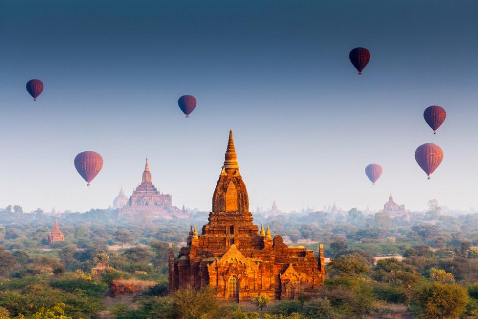 Myanmar is 1 van de goedkoopste bestemmingen van dit jaar