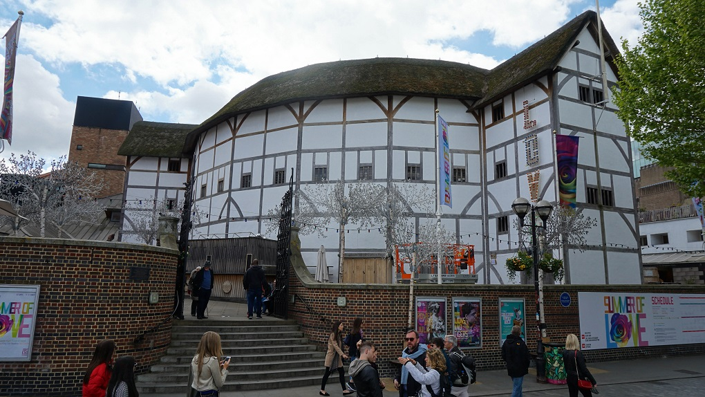 "Shakespeare""s globe in Londen"
