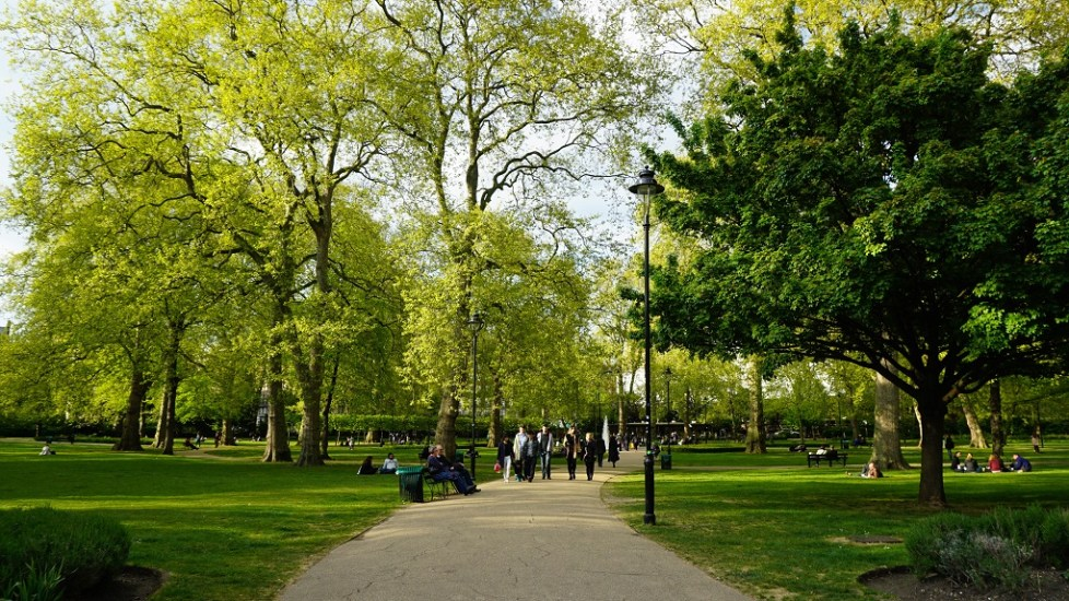 Russel Square in Londen