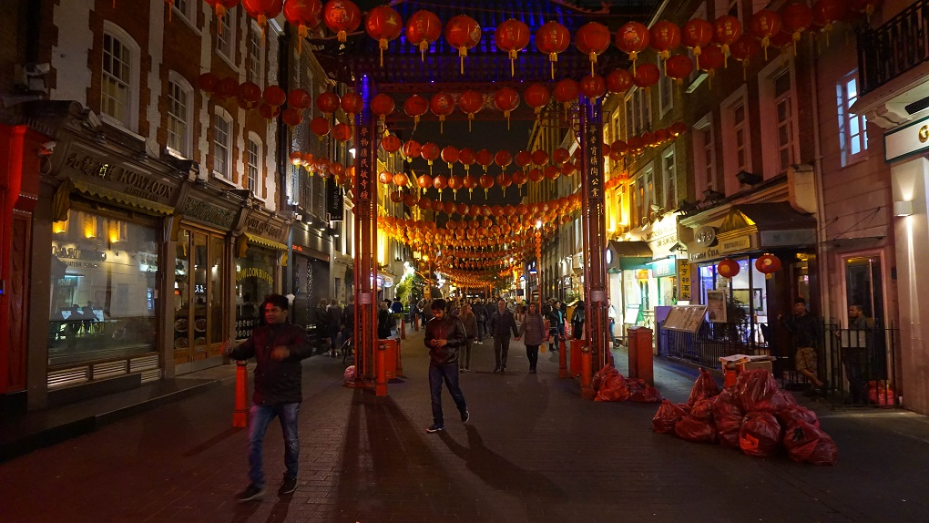 China town in Londen