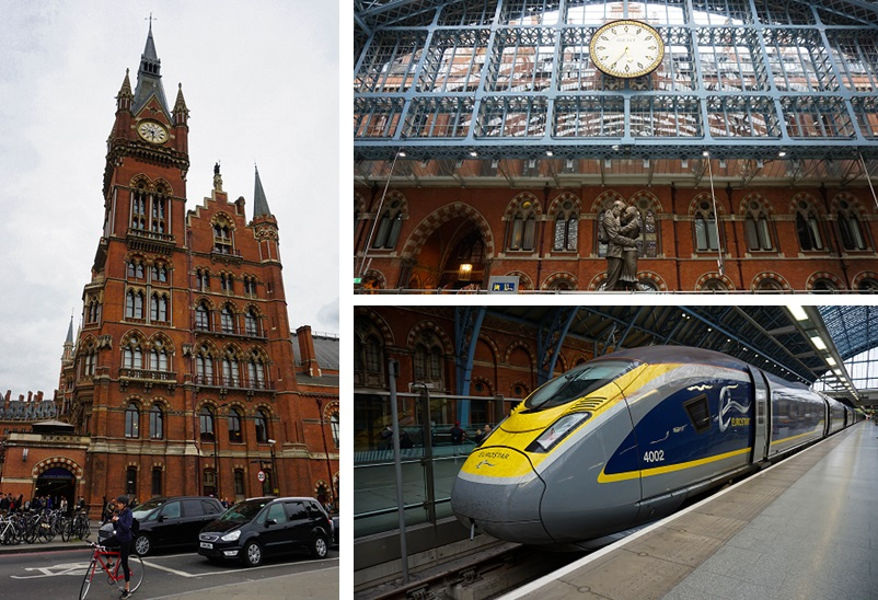 St Pancras Station in Londen