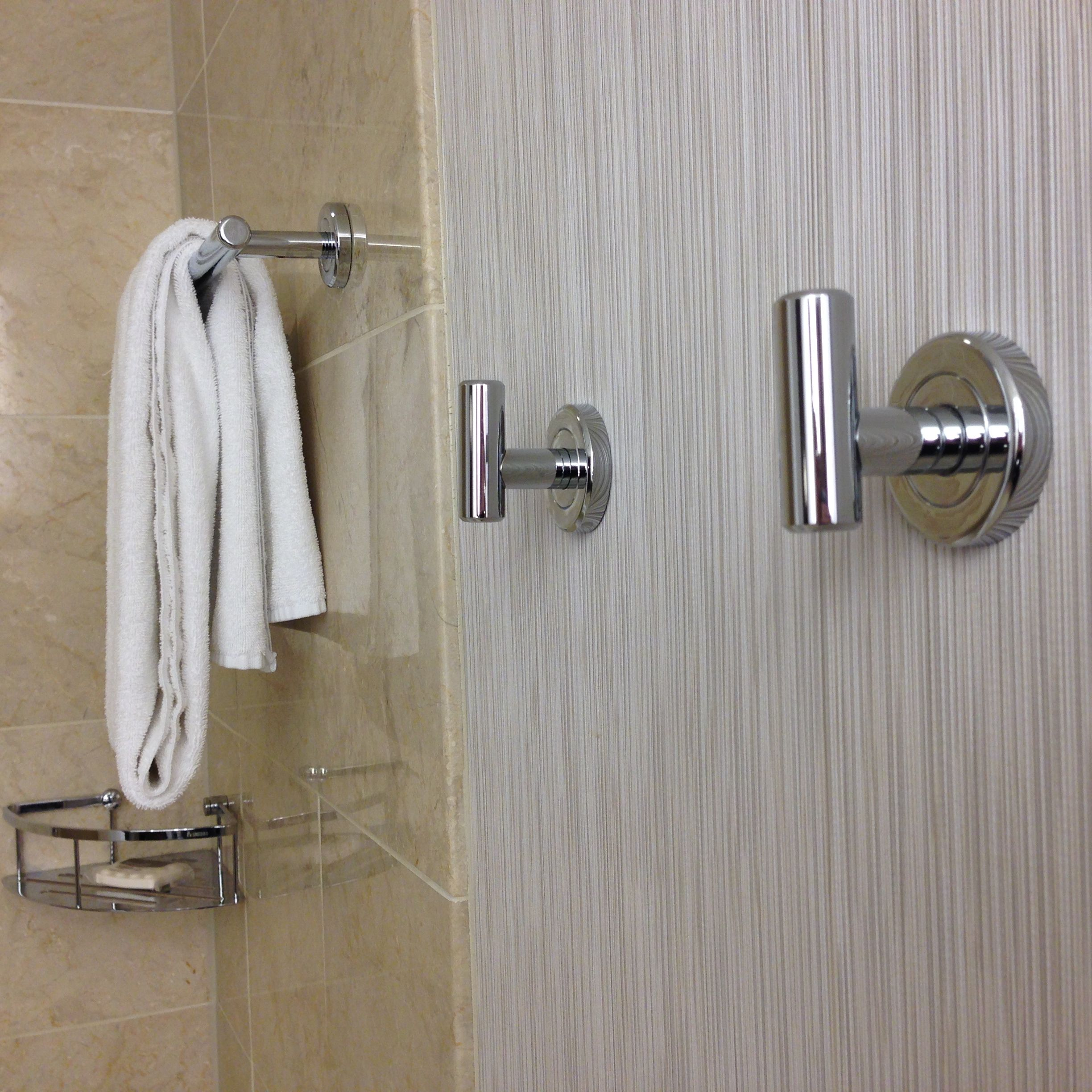 this hotel bathroom feature has me 'hooked' - travelupdate
