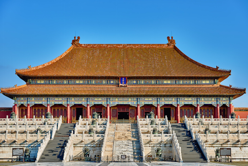 Taihedian Home Of Supreme Harmony Imperial Palace