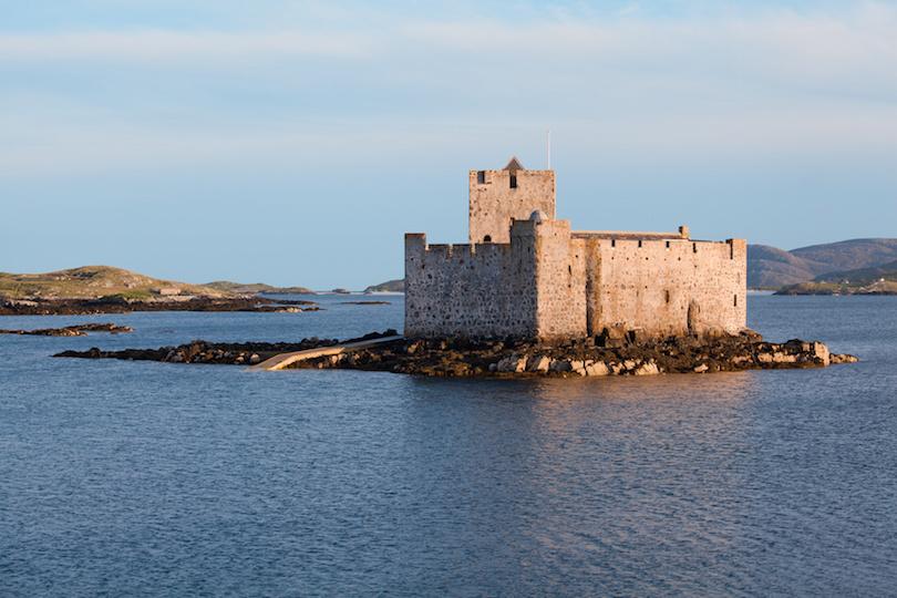 Kisimul castle, Castlebay, Isle of Barra, Outer Hebrides, Scotland.