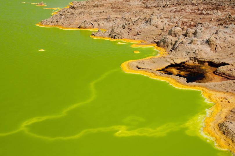 Green Water at Dallol