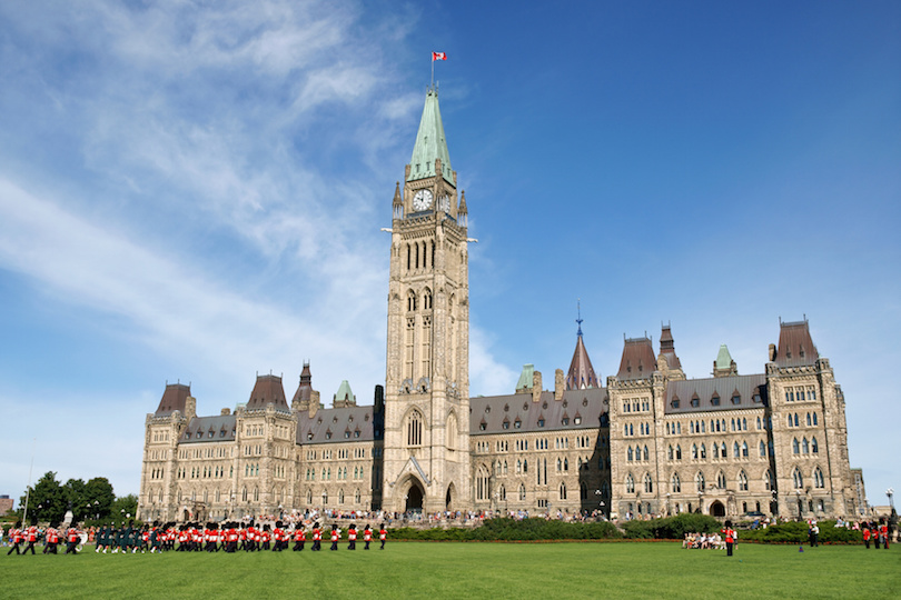 Parliament of Canada in Ottowa