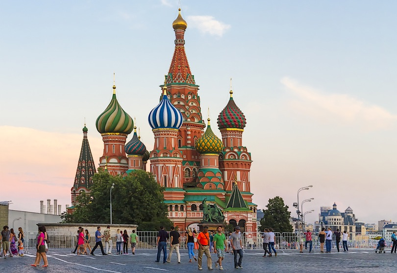 Russian Buildings In The