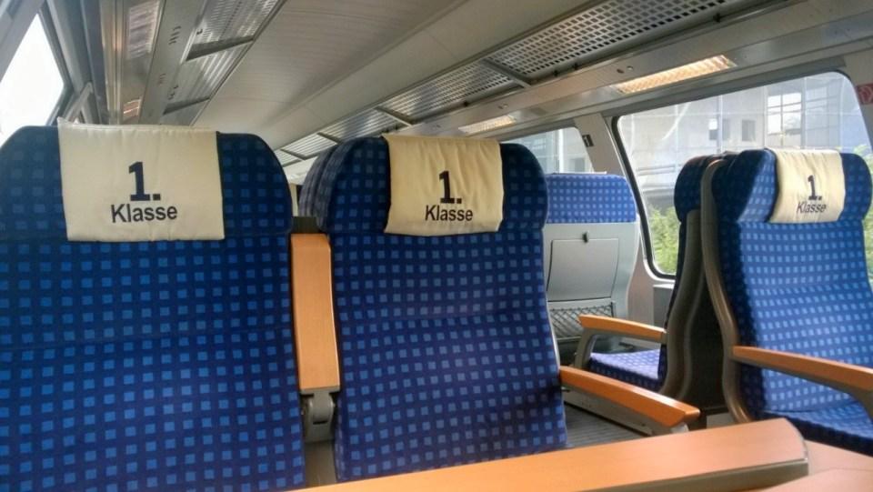 First Class Seats DB 2