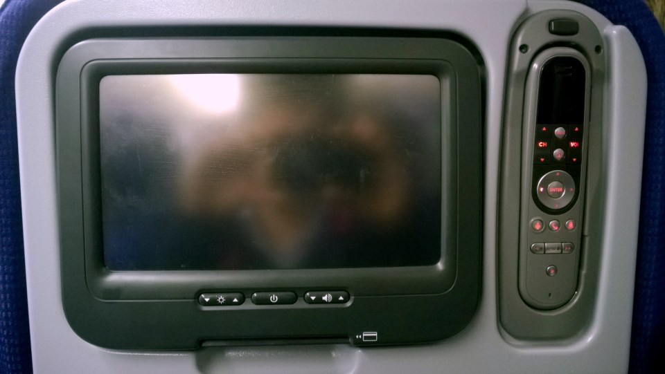Old in-flight-entertainment