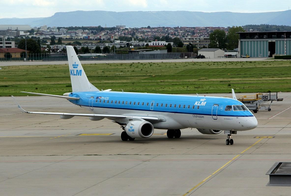 KLM Cityhopper Fokker 190