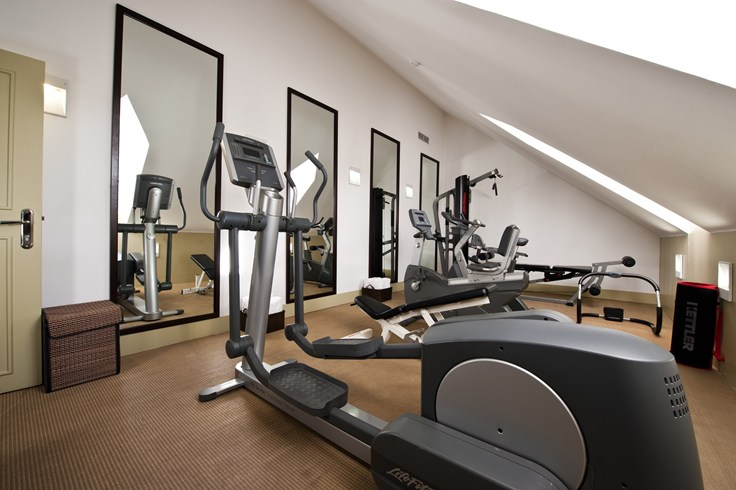 There is a fitness room but there are not many machines in it (Image Source: The Leading Hotels of the World / lhw.com)