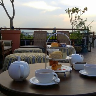 High-quality afternoon tea at the Hermitage Hotel Jakarta