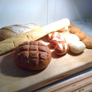 Solid bread choice at the Hermitage Hotel