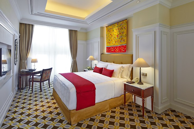Deluxe Room at The Hermitage Hotel Jakarta