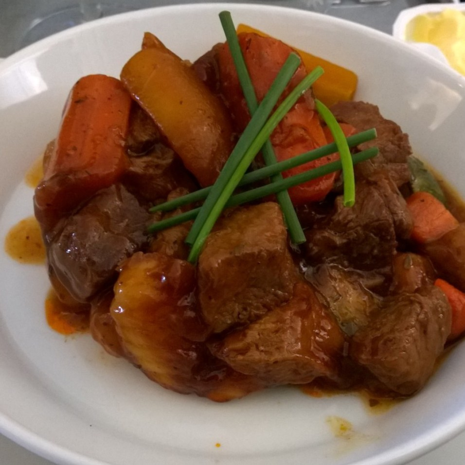 Baised Beef Cubes