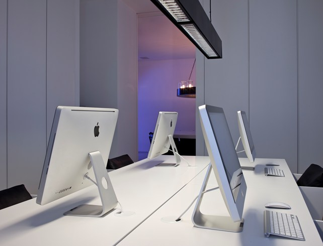 Business Center at the Mamilla Hotel (Image Source: The Leading Hotels of the World / lhw.com)