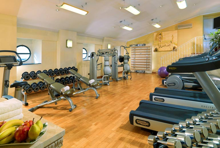 State-of-the-Art Fitness Center at St. Regis Rome (Image Source: St. Regis Rome / stregisrome.com)