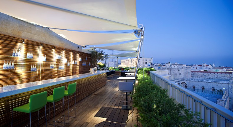 "Enjoyable views at the ""Rooftop Restaurant"" (Image Source: The Leading Hotels of the World / lhw.com)"