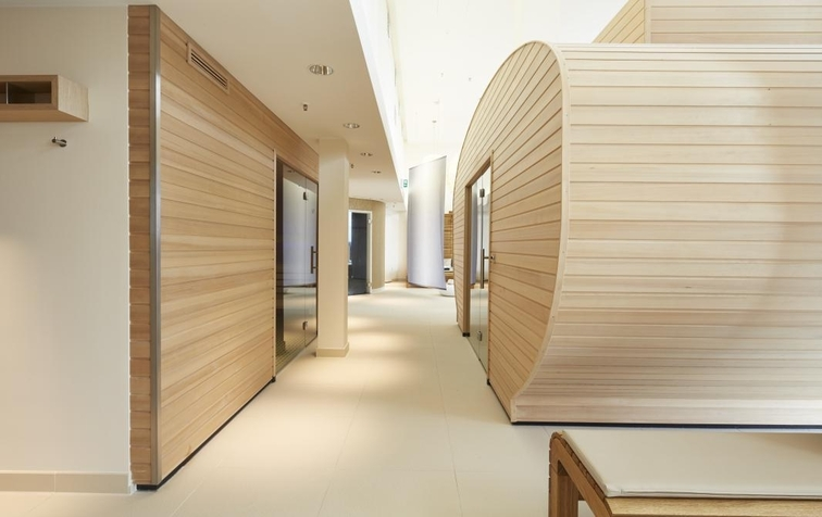 The sauna area looks really promising (Image Source: Steigenberger Hotel Am Kanzleramt / steigenberger.com)