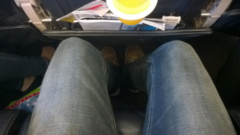 The seat pitch is not really good when flying Turkish Airlines