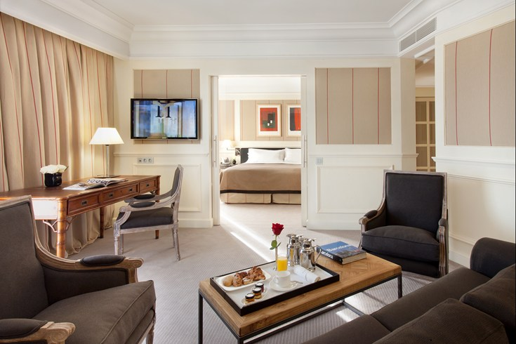 Suites at the Majestic Hotel & Spa offer a lot of space
