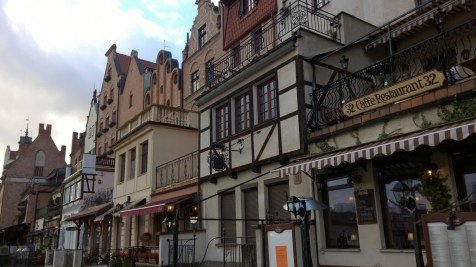Rebuilt old town