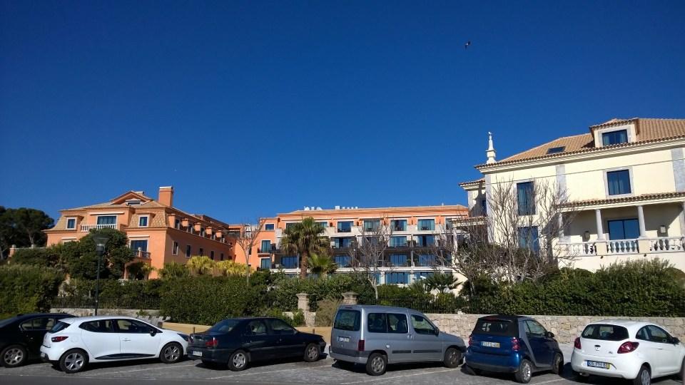 My starting point: Grande Real Villa Italia