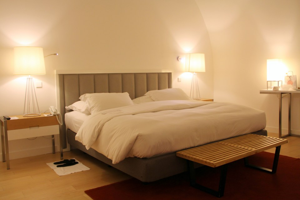 Bedroom at the Pousada